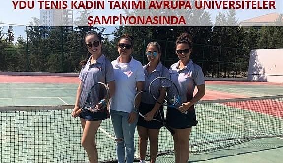 YDÜ tenisçileri, Karadağ yolcusu
