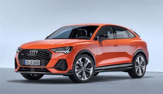 Audi'den coupe görünümlü yeni SUV