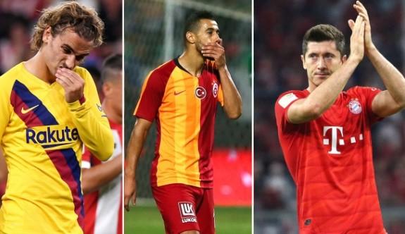 Avrupa'da şampiyonlar yeni sezona kayıpla başladı