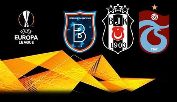 Avrupa Kupası'nda Türk takımlarının rakipleri belli oldu