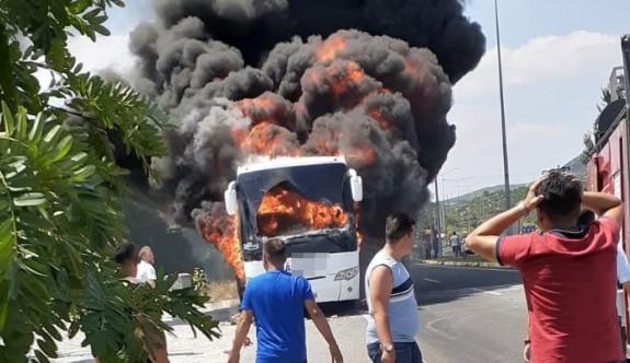 Balıkesir'de yolcu otobüsünde facia
