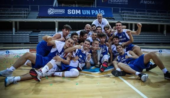 Basketbolda Güney Kıbrıs, Avrupa'nın zirvesinde