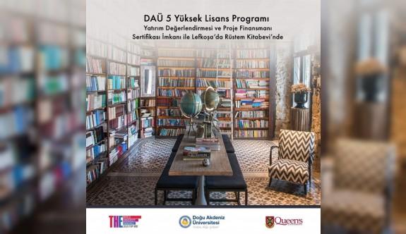 DAÜ Lefkoşa Yüksek Lisans Programları Rüstem Kitabevi'nde yürütülecek