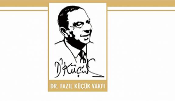 DR. FAZIL KÜÇÜK VAKFI BURS DUYURUSU