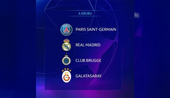 Galatasaray'ın Şampiyonlar Ligi fikstürü belli oldu