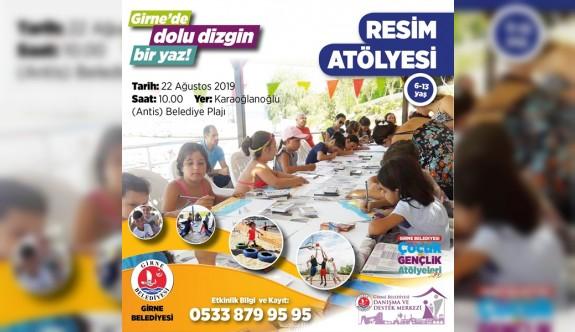 Girne'de yaz tatili çocuk ve gençlik atölyeleri devam ediyor