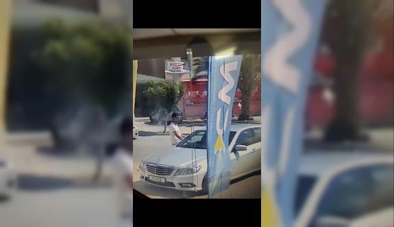 Güpegündüz araç hırsızlığı