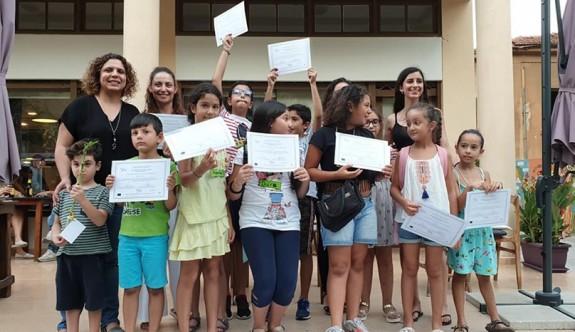 İki dilli Yunanca ve Türkçe kursları tamamlandı