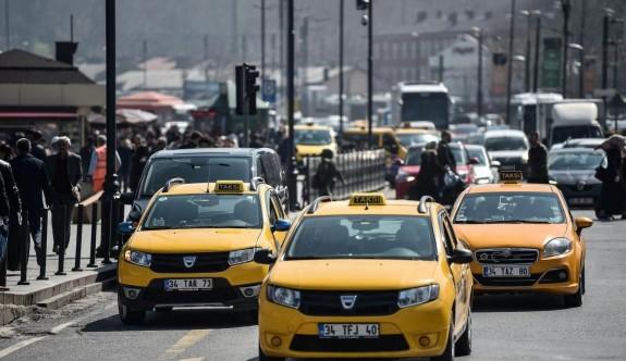 İstanbul'da taksi ve minibüse zam