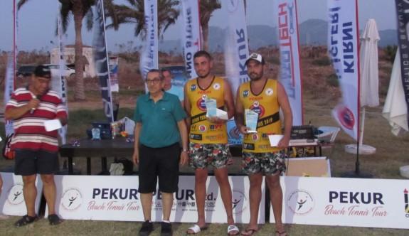 Pekur Beach Tennıs-3 tamamlandı