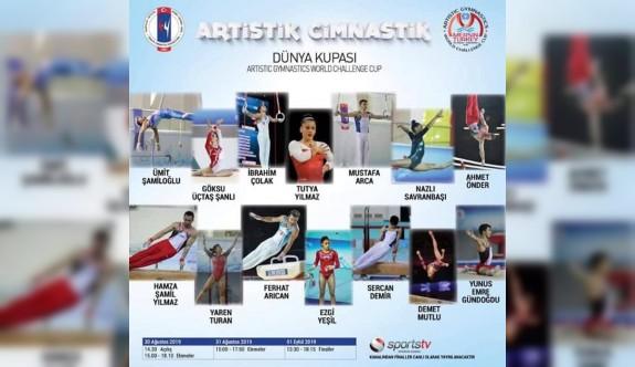 Sapsızoğlu, Cimnastik Dünya Şampiyonasına katılacak