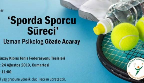 Tenis Federasyonu seminer düzenleyecek