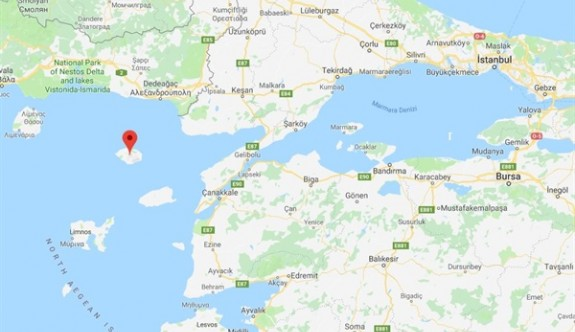 Turistler Yunanistan'ın Semadirek Adası'nda mahsur kaldı