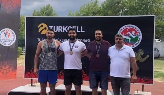 YDÜ sporcusu Türkiye şampiyonu