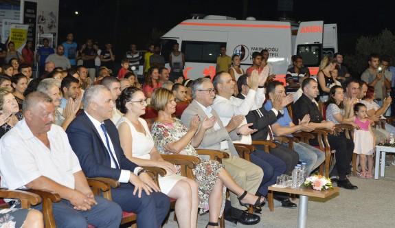 Akıncı, Haspolat Kültür Sanat Festivali'nin açılışına katıldı