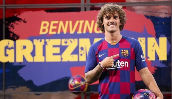 Barcelona'ya Griezmann transferinden ceza
