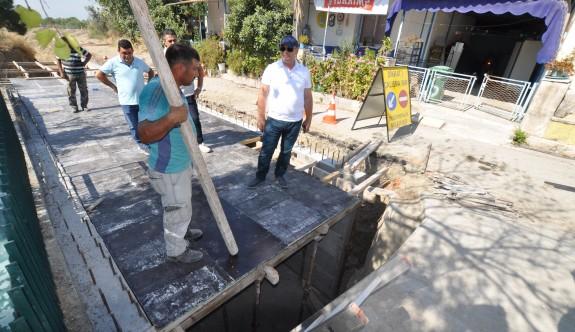Değirmenlik Saray Mahallesi'ndeki çalışmalar devam ediyor