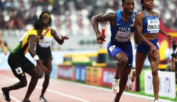 Dünya Atletizm Şampiyonası tarihinde bir ilk