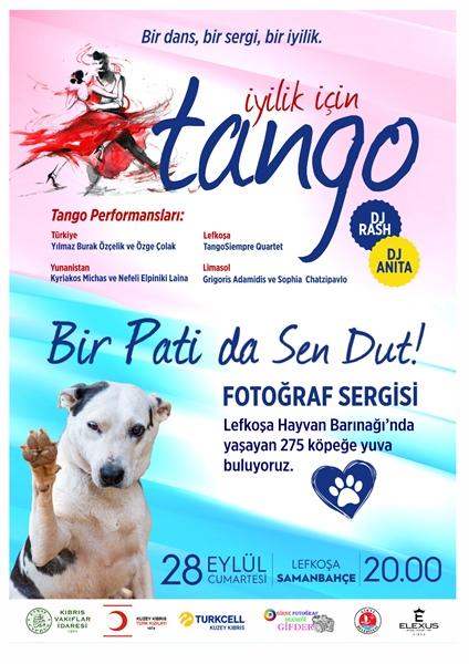 Evkaf'dan sokak hayvanları yararına Tango etkinliği