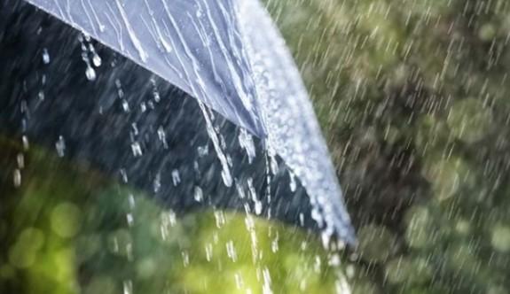 Hafta sonu yağmur var