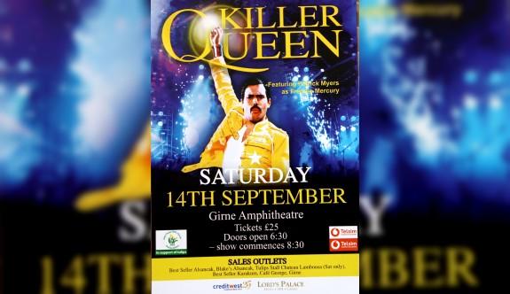 Killer Queen grubu Kanser hastaları için Girne'de konser verecek