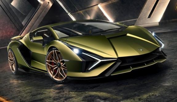 Lamborghini'nin hibrit süper sporu Sian