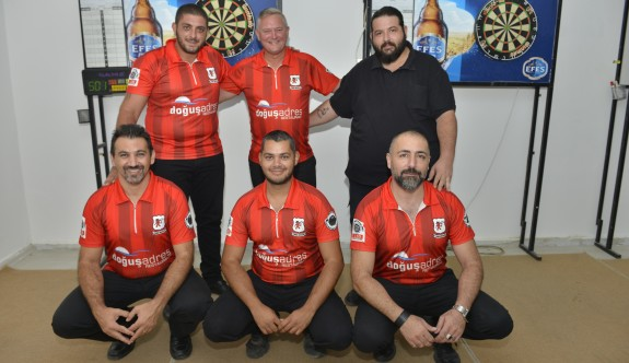Lefkoşa Darts Birliği şampiyon
