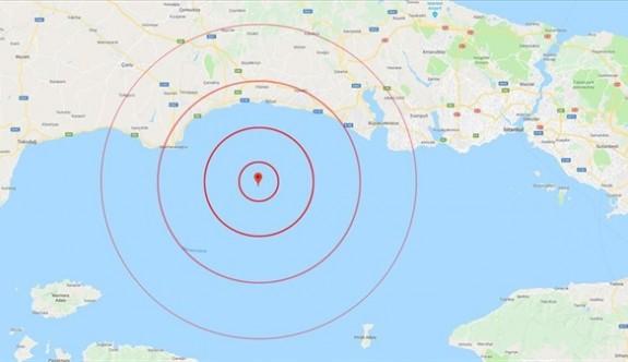 Marmara'daki 5,8'lik depremin ardından 144 artçı sarsıntı