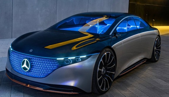 Mercedes-Benz'in yeni konsepti Vision EQS