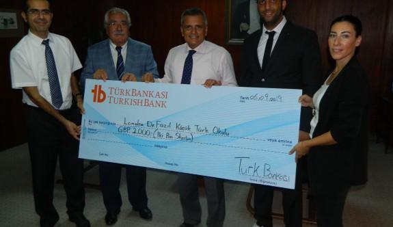 Türk Bankası'ndan anlamlı bağış