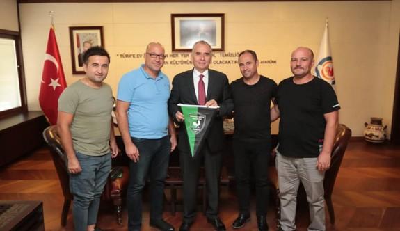 Yarköy heyeti, Denizli belediye başkanı ile görüştü