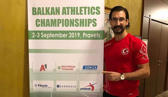Yiğitcan, Balkan Şampiyonası'nda koşacak