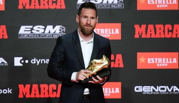 Altın Ayakkabının sahibi yine Messi