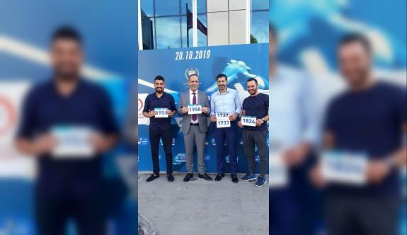 Cimnastik Federasyonu, maratona katılıyor