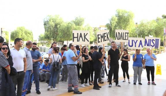 DAÜ'de grev