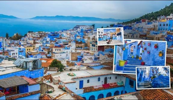 Fas'ın mavi şehri Şafşavan