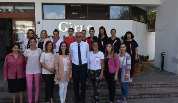 Girne Belediyesi çalışanlarından farkındalık yürüyüşü