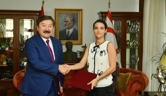 Girne Üniversitesi ile TÜRKSOY arasında işbirliği