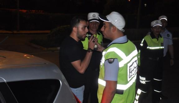 Girne'de 69 alkollü sürücü tespit edildi