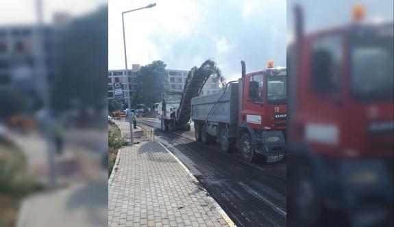 Girne'ye 6 bin ton asfalt daha