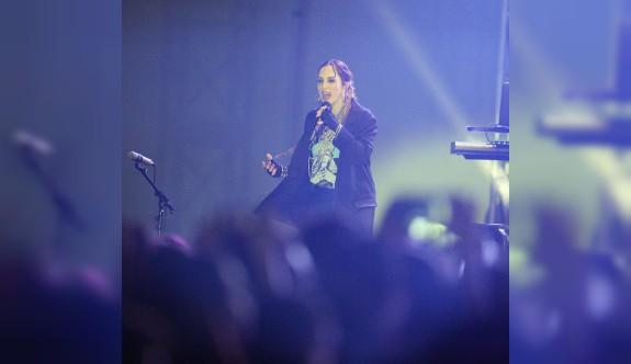 Gönyeli Gençlik Festivali Sertap Erener'le sona erdi
