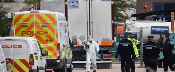 """""""İngiltere'deki donarak can veren 39 kişi Çin vatandaşı"""" iddiası"""