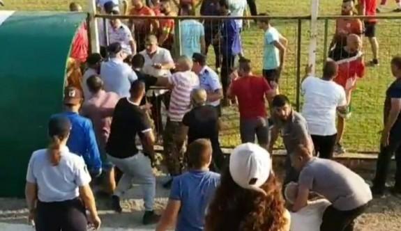 Karşıyaka'da hakem darp edildi
