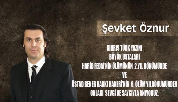 Kıbrıs Türk Yazını'nın üstadları anılıyor
