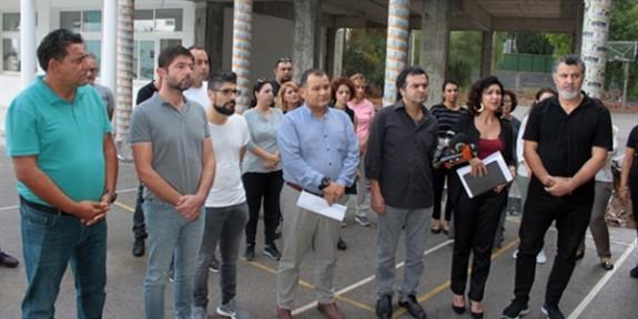 KTOEÖS'ten Erenköy Lisesi'nde uyarı grevi