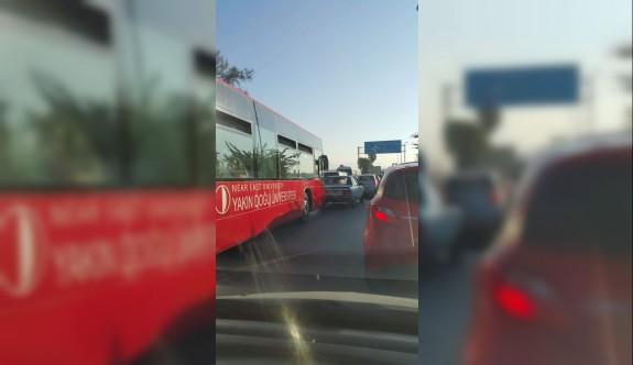 Lefkoşa trafiği çıldırtıyor