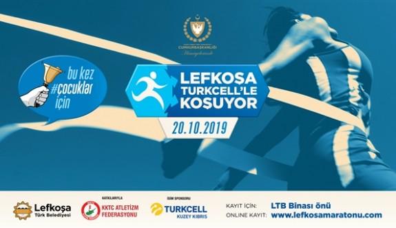 """""""Lefkoşa Turkcell'le Koşuyor"""" maraton kayıtları internetten de yapılabilir"""