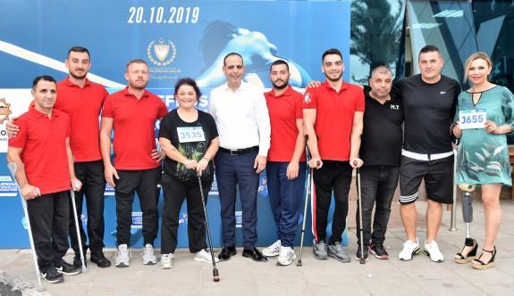 Lefkoşa Turkcell'le Koşuyor Maratonu'na rekor katılım