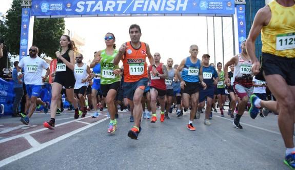 Maratonun başarılıları açıklandı