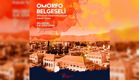 Omorfo Belgeseli'nin ilk gösterimi 31 Ekimde